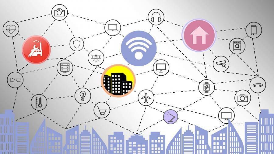 Funktechnologie Im Bereich Smart City