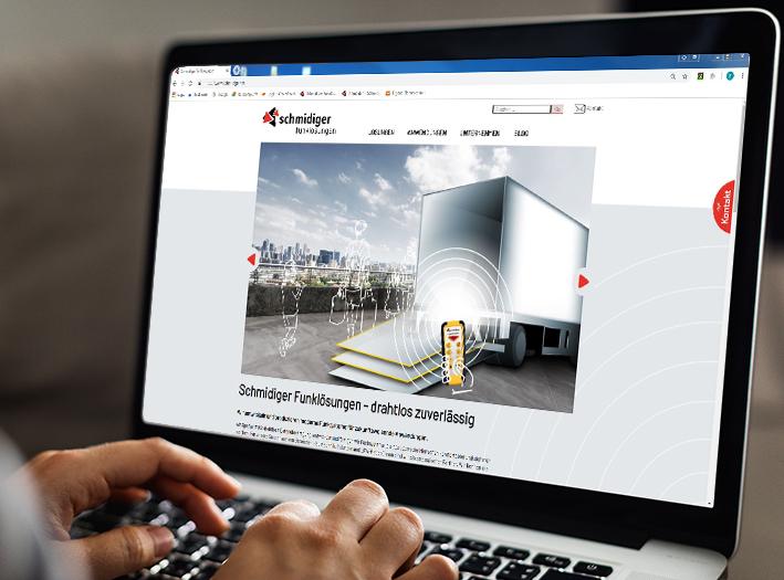 Internetauftritt Schmidiger Funklösungen